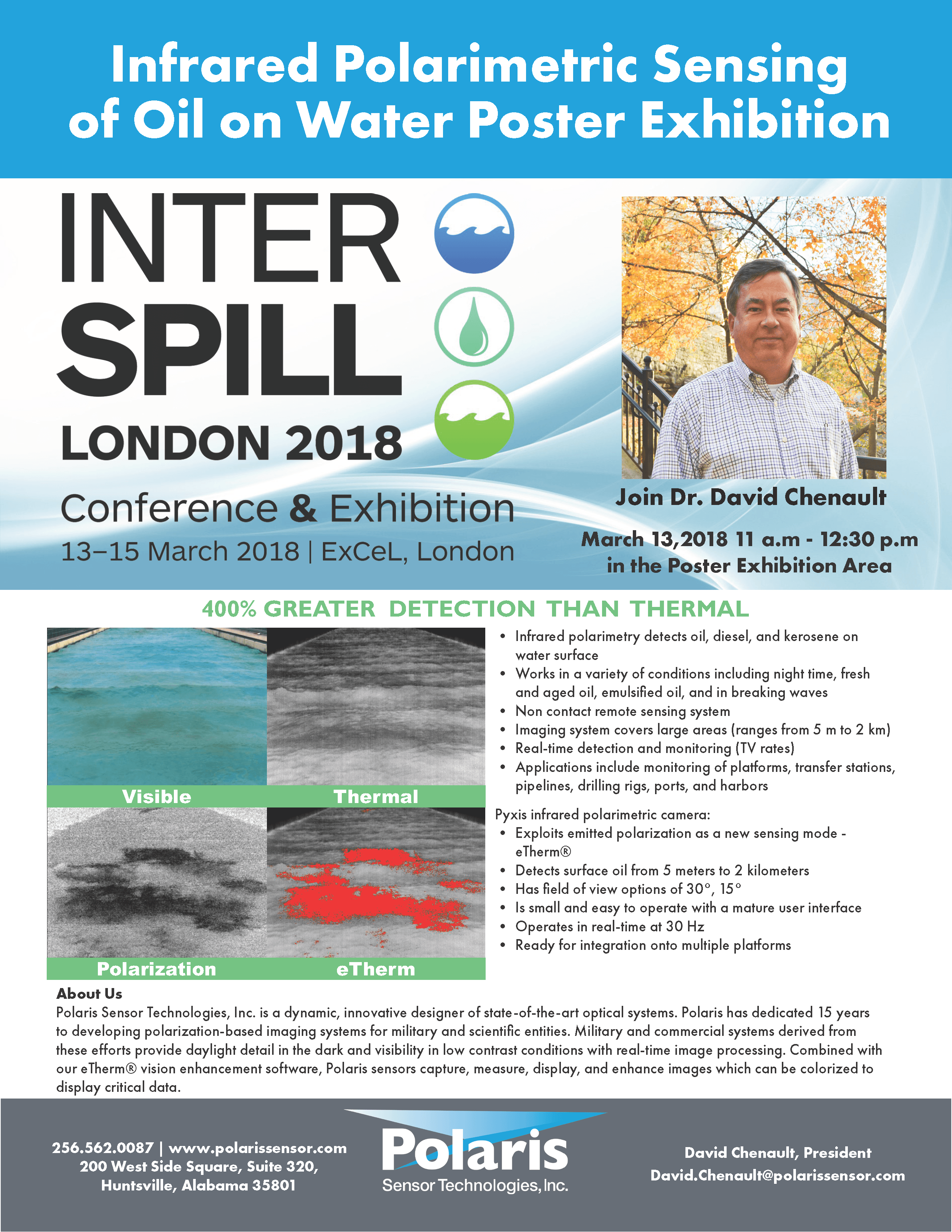 Interspill Conference Flyer